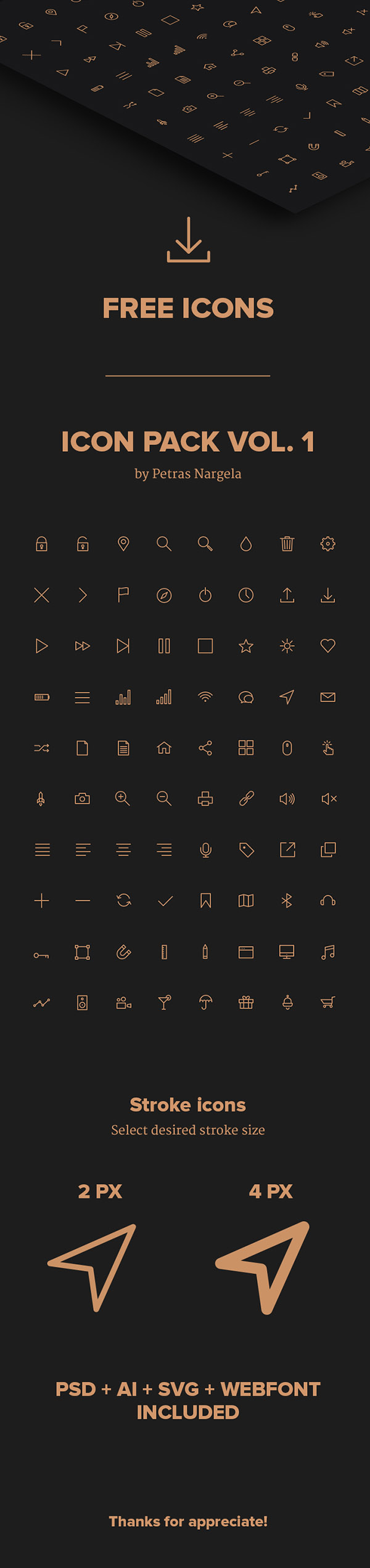 Crispy Icons